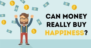 Money can't buy happiness thesis statement